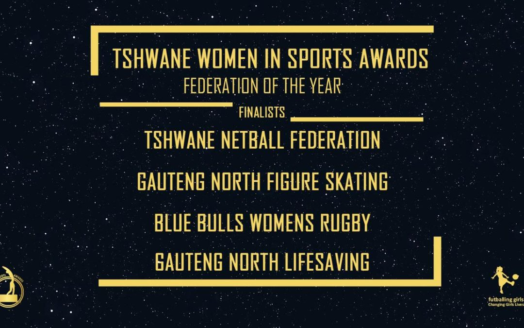 TSHWANE WOMEN IN SPORTS AWARDS 2020